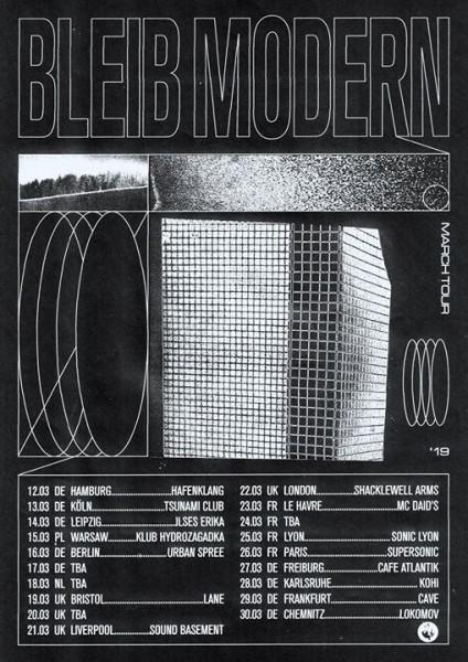 bleib modern - tour 2019